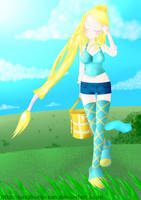Goddess of Light - Aska by RenFortineri