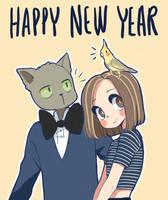 Happy new year 2018 by Paulinaapc