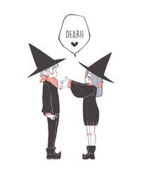 Dear - Es una escuela de brujas by Paulinaapc