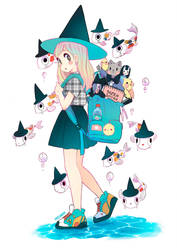 Witch fishes by Paulinaapc