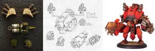 Khador Torch Heavy Warjack by MechanicalHorizon