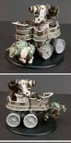 Trollbloods War Wagon Battle Engine by MechanicalHorizon