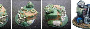 Warmachine Jack Parts Objective Marker by MechanicalHorizon
