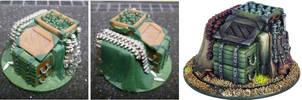 Warmachine Ammo Dump Objective Marker by MechanicalHorizon