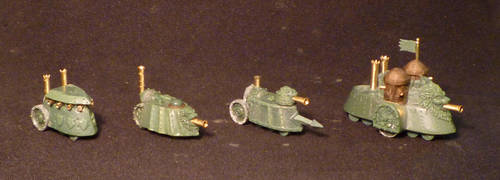 6mm scale Steam Tanks by MechanicalHorizon