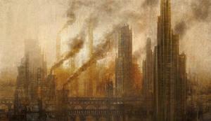 Industrialized Cityscape by jpli