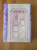 Purple Tardis by Magical525