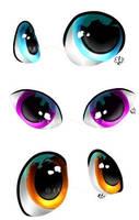 Eyes practice 1 by ElKhronista