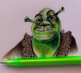 Shrek by ElKhronista
