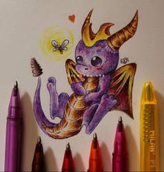 Spyro by ElKhronista