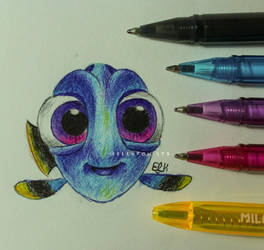 Baby Dory by ElKhronista