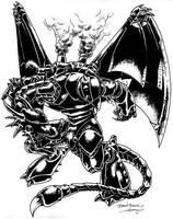 Dragon Juggernaut - Rifts by BrianManning