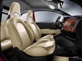 Abarth 566 Tributo Alfa Romeo - Anton 2012interior by antongj
