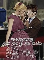 Tardis Sweet Shop and Soda Fountain by LicieOIC