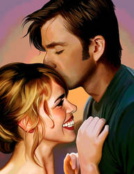 Sunset Kiss by LicieOIC