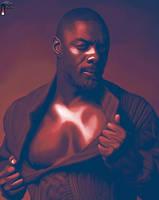 Idris Elba in Muttle by LicieOIC