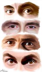 I Love His Eyes - David Tennant by LicieOIC