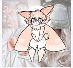 : Rose : Mothsona : by Sokoz