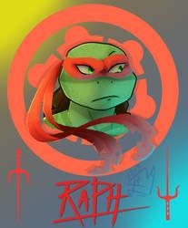 [TMNT] .:Raphael:. by elenorlamaga