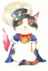 Tama cat by moonngai
