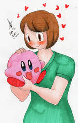 Althea and Kirby by MatthewGo707