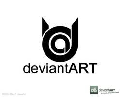 Deviant Art Logo 10 reyj by reyjdesigns