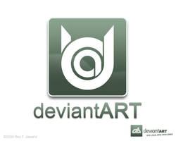 Deviant Art Logo 10.1 ReyJ by reyjdesigns
