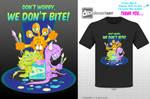 Cute Monsters Tshirt design reyjking1 by reyjdesigns