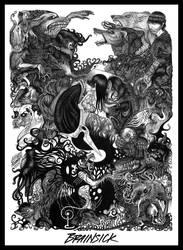 BRAINSICK : Hallucinatory Apex by JillianLambertArt