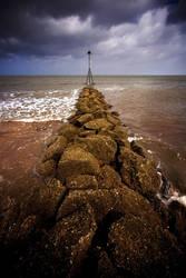 Vanishing To the Groyne by Phil-Norton