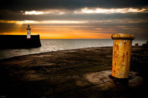 The Lighthouse-Whitehaven by Phil-Norton
