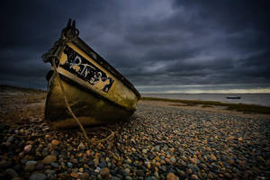 The Old Yellow Boat by Phil-Norton