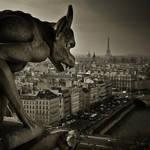 Paris Gargoyle 2 by Phil-Norton