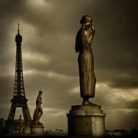 Bronze Lady by Phil-Norton