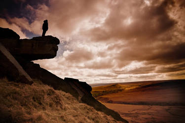 The Look Out-Marsden Moor by Phil-Norton