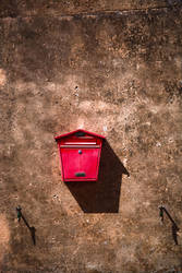 Red Letter Box by Phil-Norton