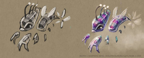 Hive Creature Concept by Mawg