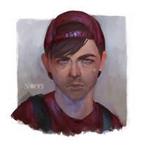 Teenage Angst Mario by Tvonn9