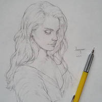 Vonn Sketch - 9.18.15 - Honeymoon by Tvonn9