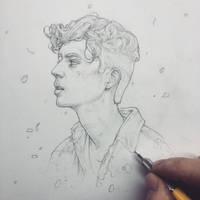 Vonn Sketch 12.10.15 - Troye by Tvonn9