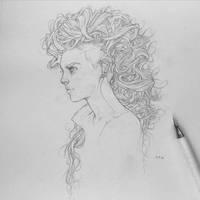 Vonn Sketch 2.7.16 by Tvonn9