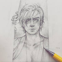 Vonn Sketch 5.21.16 - New Illustration Coming! by Tvonn9