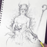 Vonn Sketch 6.13.16 - Year 1 by Tvonn9