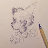 Vonn Sketch 7.17.16 - The Entertainer by Tvonn9