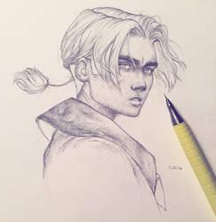 Vonn Sketch 7.25.16 - Jimbo by Tvonn9
