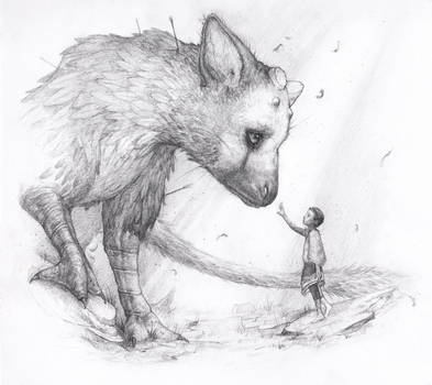 Apprehension - The Last Guardian Fanart by Tvonn9