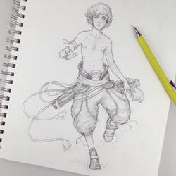 Chase, the Dreamer Sketch by Tvonn9
