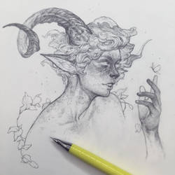 Vonn Sketch - 2.1.18 by Tvonn9