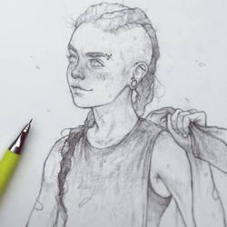 Red Sketch - 2.13.18 by Tvonn9
