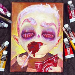 Drawtober - Blood Sucker by Tvonn9